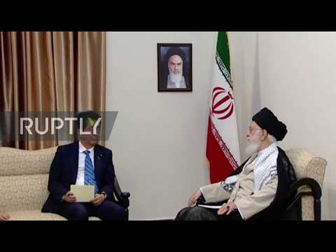 Iran: 'Honest negotiations are unlikely for Trump' - Khamenei meets with Shinzo Abe