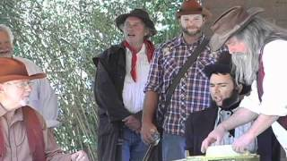 The Bear Flag Revolt Reenactment in Sonoma 2011 with George Webber and Friends.