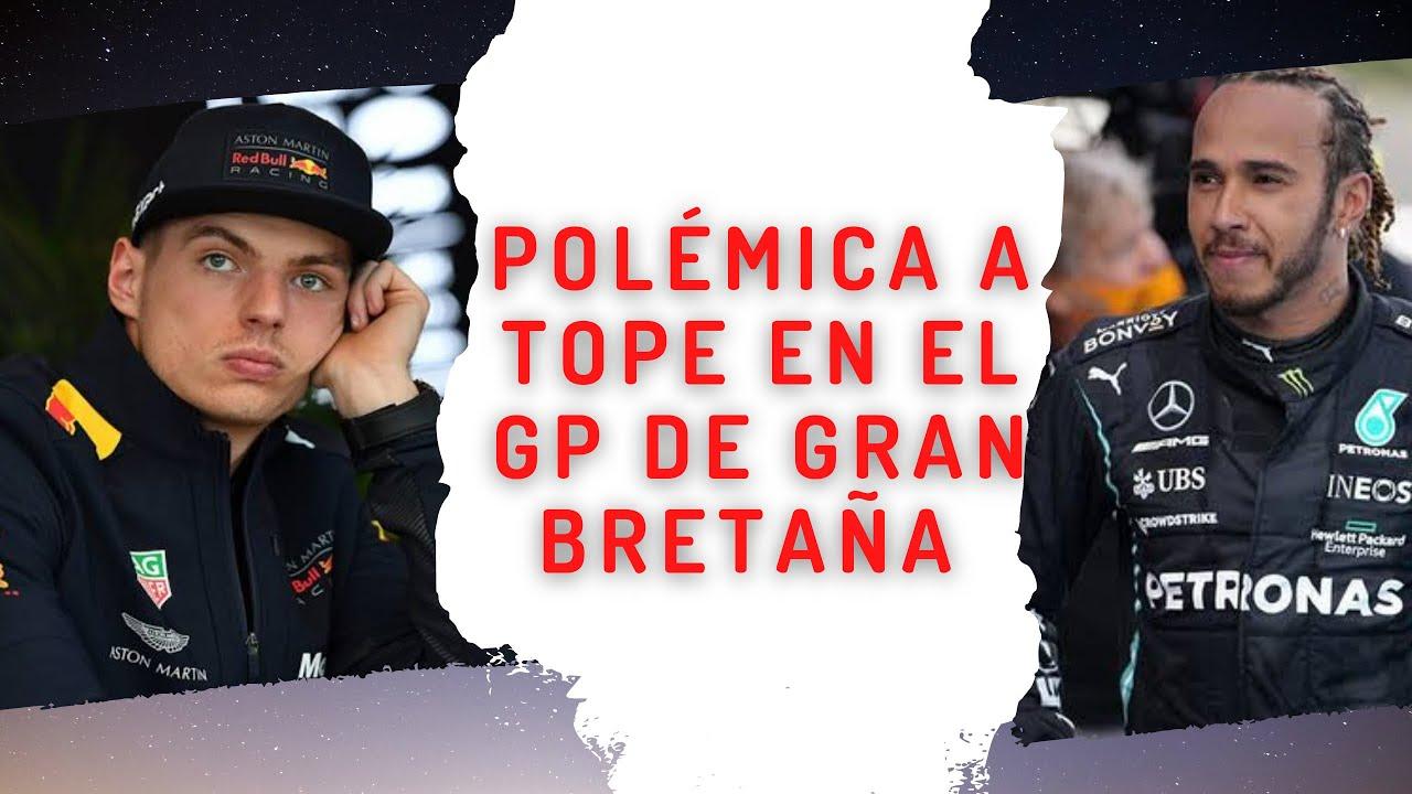 POLÉMICA A TOPE EN EL  GP DE GRAN BRETAÑA