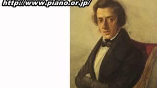 ショパン/ポロネーズ第7番 変イ長調 「幻想」,Op.61,CT156 pf.フラーニ