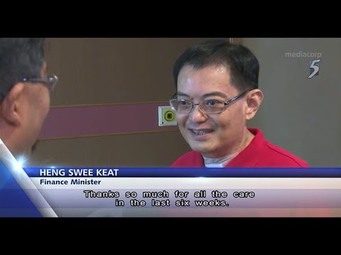 Finance Minister Heng Swee Keat discharged from hospital