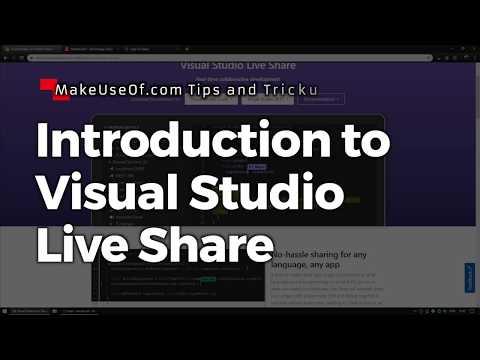 Introduction to Visual Studio Live Share