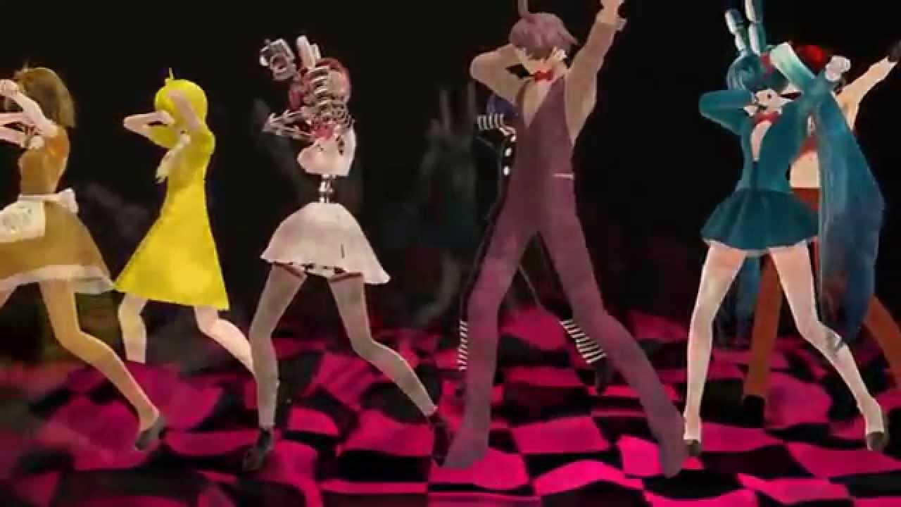 Скачать танцы в mmd.