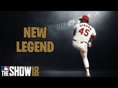 BOB GIBSON WILL BE IN MLB THE SHOW 18