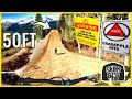 THE BIGGEST JUMPS AT WHISTLER BIKE PARK!! 🔺  | Hitting Crabapple Hits on a trail bike