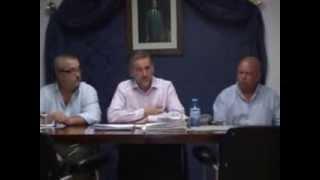 Pleno Montejaque Octubre 2012