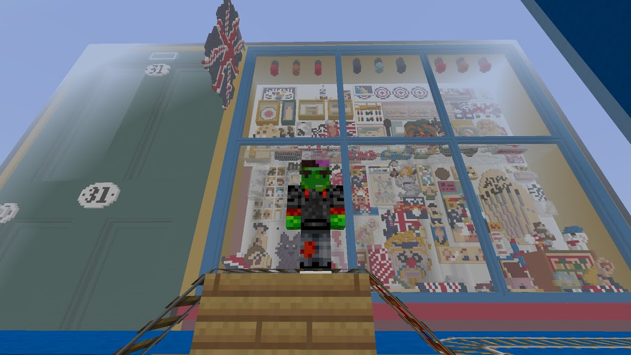 how to make a toy shop in minecraft