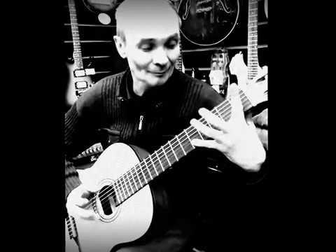 Виктор Китаев гитарист-виртуоз из Казани