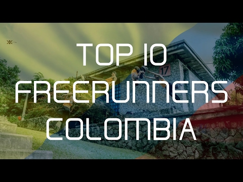 TOP 10 FREERUNNERS COLOMBIA