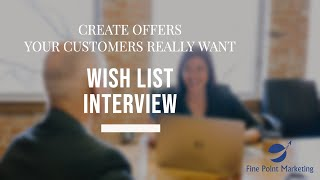 How To Create Offers Customers Actually Want | Fine Point Marketing