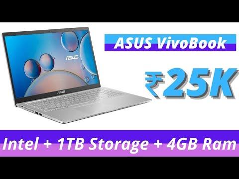 ASUS VivoBook X515MA-BR004T Laptop Review In Hindi   Celeron + 1TB + 4GB Ram   Laptop Under ₹25000