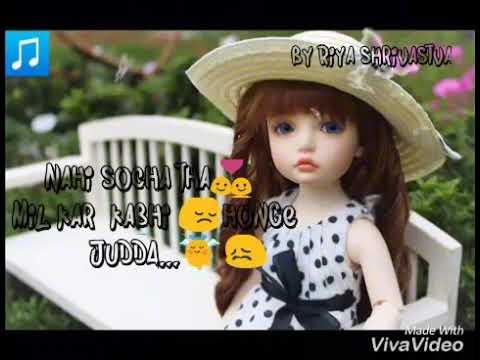 O khuda  😘 female version song😘   for whatapp status   sad song  