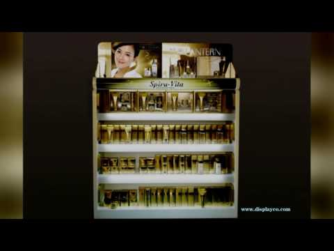 Sample available cosmetics shop interior design,cosmetic display store design,makeup display stand