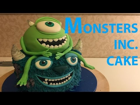 Monsters Inc. Cake Mike Wazowski James P Sully