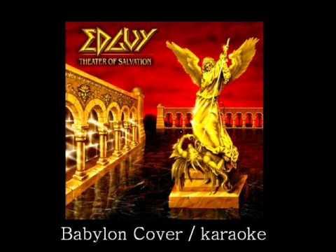 Babylon cover / karaoke / Edguy