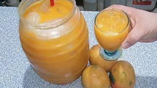 Agua de mango rendidora para que pongas tu negocio aprovecha la fruta