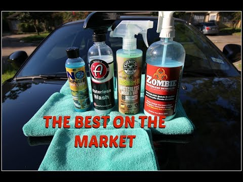 THE BEST WATERLESS WASH!  (for you)