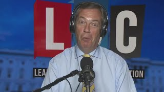 The Nigel Farage Show: Pros and cons of immigration? Live from Washington DC. LBC - 8th August 2017