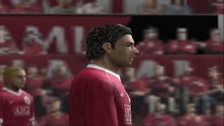 PES 2007 - Playstation 2 - Arsenal vs Manchester United Full Match