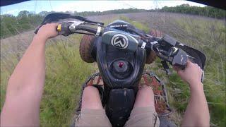 ltz 400 suzuki kingquad 400 yz 85 trail ride