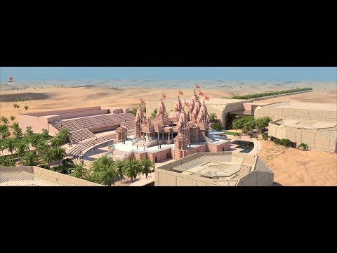BAPS Hindu Mandir, Abu Dhabi - What an Architectural Rendition