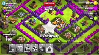 Clash of clans Top 100 clan gameplay-trophies 2300