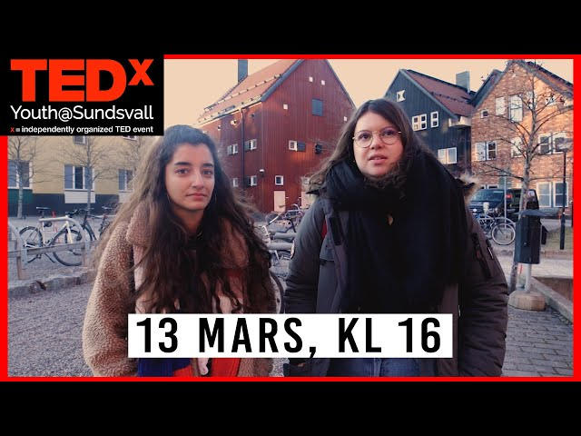 Tedxyouth Sundsvall 2020 - 13 mars, kl 16 Promo Video 1