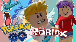 ROBLOX LET'S PLAY POKEMON GO ( RADIOJH GAMES - GAMER CHAD