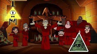 Teoría: ¿En Gravity Falls La Sociedad Del Ojo Ciego Son Los Iluminatis?