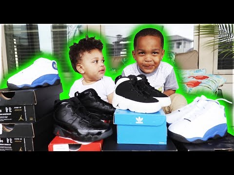 THE KIDS SHOE COLLECTION | THE PRINCE FAMILY thumbnail