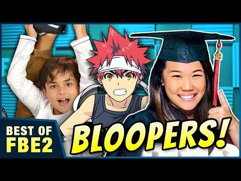 REACT Graduations, BLOOPERS & Try Not to Eat Challenge!