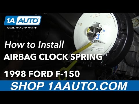 How to Replace Airbag Clock Spring 97-98 Ford F-150