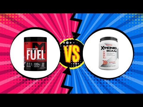 BCAAs REVIEW Machine Fuel vs. Scivation Xtend | Tiger Fitness