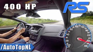 400HP FORD FOCUS RS MK3 270km/h on AUTOBAHN by AutoTopNL thumbnail