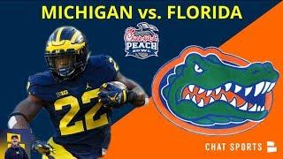 What Bowl Game Is Michigan Playing In? 2018 Michigan vs. Florida   Peach Bowl - December 29, 2018