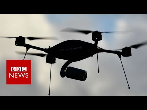 Gatwick: How will police catch the drone menace? - BBC News