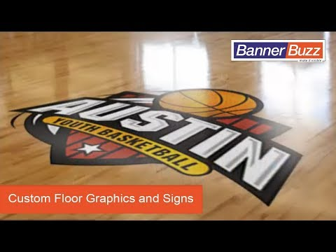 Clear Floor Decals - Custom Floor Graphics And Signs