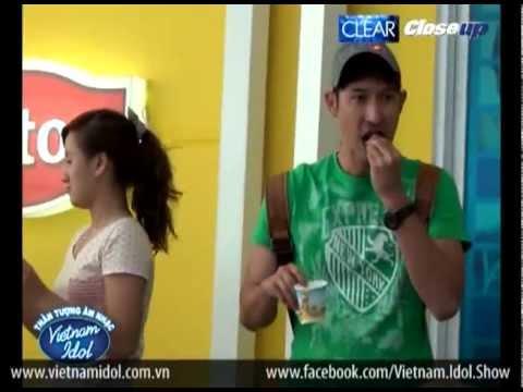 Vietnam Idol 2012 - Ekip nạp năng lượng trước giờ lên sóng như thế nào
