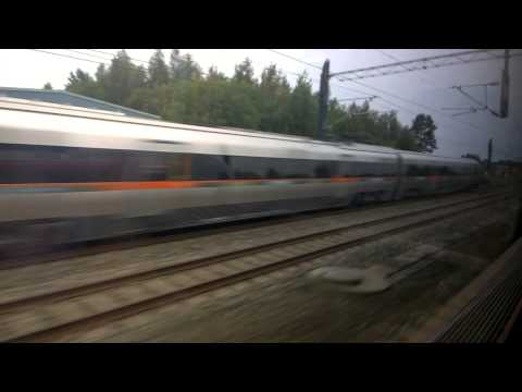 BM71 airport train bypass in high speed