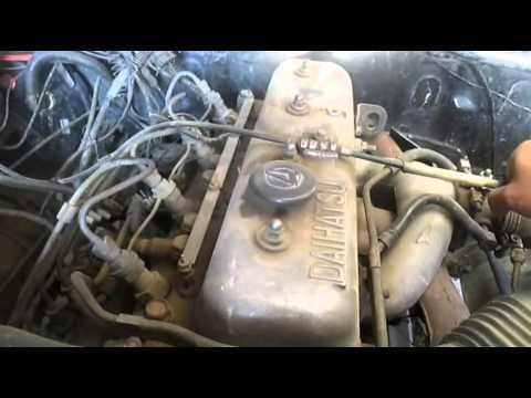 Daihatsu F70 TAFT 1987 Engine Start Whats wrong?