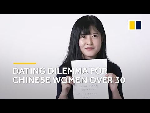 Female and over 30? China's dating market may not want you