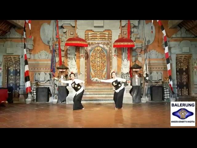 Tari Pendet Peliatan 2020   (A. A.  Raka Astuti & A. A Sri Utari)  Balerung Stage