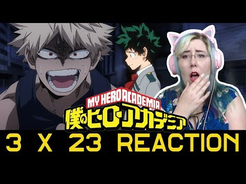 """ Deku Vs. Kacchan, Part 2 "" -  My Hero Academia 3x23 Reaction - Zamber Reacts"