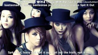 f x 뱉어내 spit it out engsubhanrom