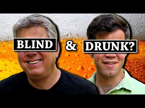 What Happens When A Blind Person Gets Drunk?
