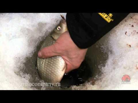 видео: Ловля карася зимой