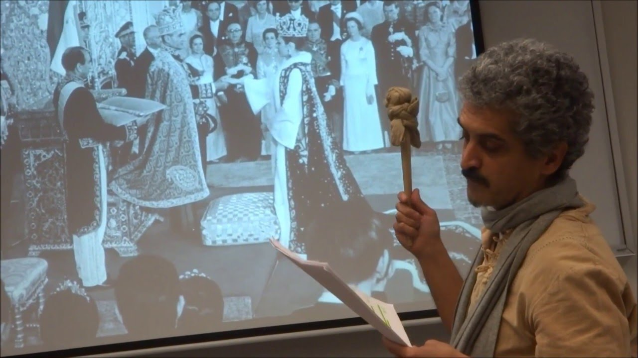S  Mohammadi gives a series of lectures about the Shahnameh