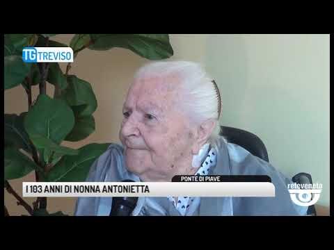 TG TREVISO (23/04/2019) - I 103 ANNI DI NONNA ANTO...