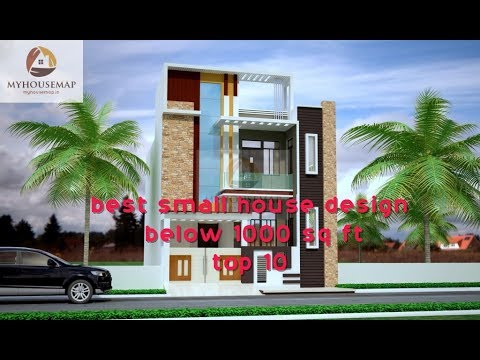 10 Best Small House Design Ideas | Indian Style Small Home Designs