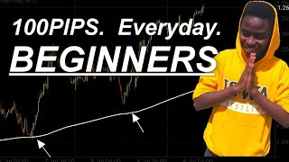 hOw ANYONE can CATCH 100PIPS EVERYDAY: Profitable and Simple FOREX Strategy